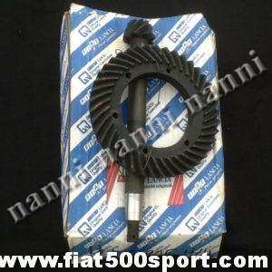 Fiat 500 sport Coppia conica per 500 F/L originale in scatola Fiat. Rapporto 8/41