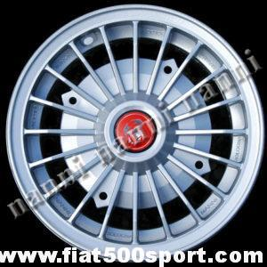 "Art. 0073 - Abarth light alloy wheel 4,5"" x 12"" with bolts for 500 and 126 first model. - Abarth light alloy wheel 4,5"" x 12"" with bolts for 500 and 126 first model.  ET 30"
