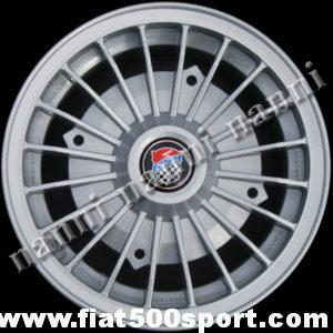 "Art. 0073G - Giannini light alloy wheel 4,5"" x 12"" with  bolts for 500 and 126 first model. - Giannini light alloy wheel 4,5"" x 12"" with bolts for 500 and 126 first model.  ET 30."