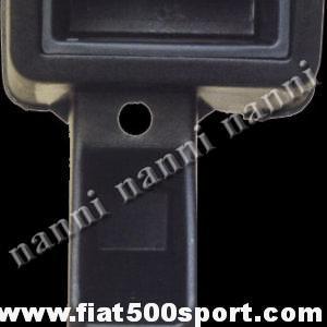 Art. 0093 - Portaradio  Fiat 500 Fiat 126. - Portaradio  Fiat 500 Fiat 126 di colore nero.