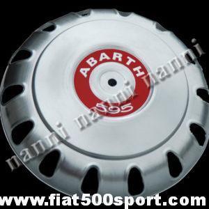 Art. 0096A - Borchia Fiat 500 Abarth per ruota originale. - Borchia Fiat 500 Abarth per ruota originale.