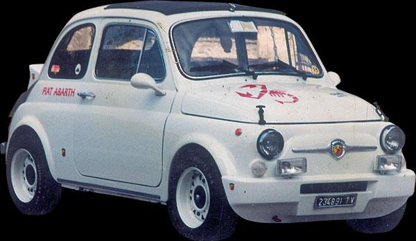 Nanni Front Fiberglass Bumper For Fiat 500