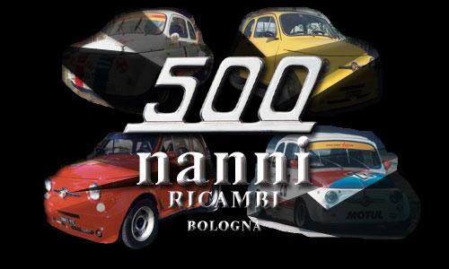 Dal 1960 siamo specializzati nella costruzione di ricambi e accessori sportivi e corsa per: ABARTH 595/695 GIANNINI 500/590/650/700 FIAT 500 D/F/L/R – 126 GIARDINIERA