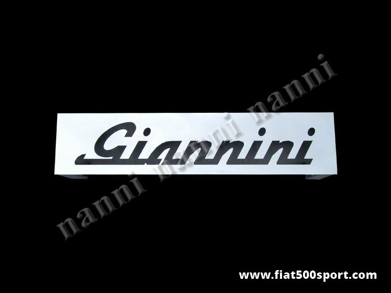 Art. 0004 - Giannini 590/650/700 rear bonnet support grille chromed. - Giannini 590/650/700 rear bonnet support grille chromed.