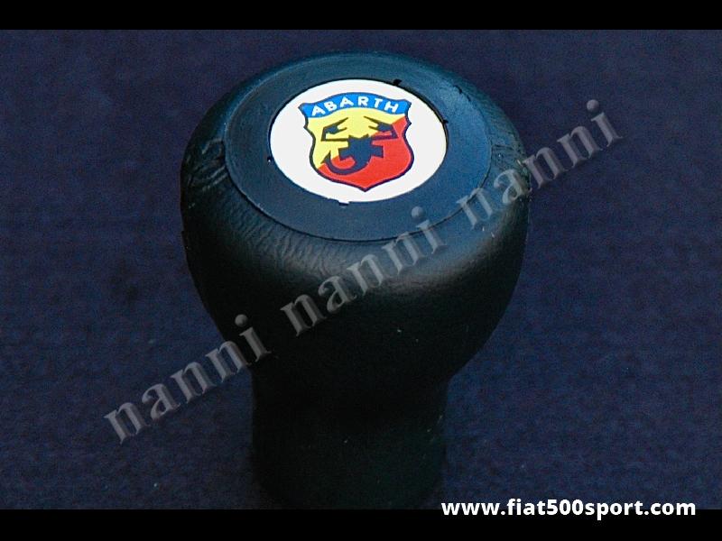Art. 0031 - Fiat 500 Fiat 126 Abarth poliuretane gear knob. - Fiat 500 Fiat 126 Abarth poliuretane gear knob.