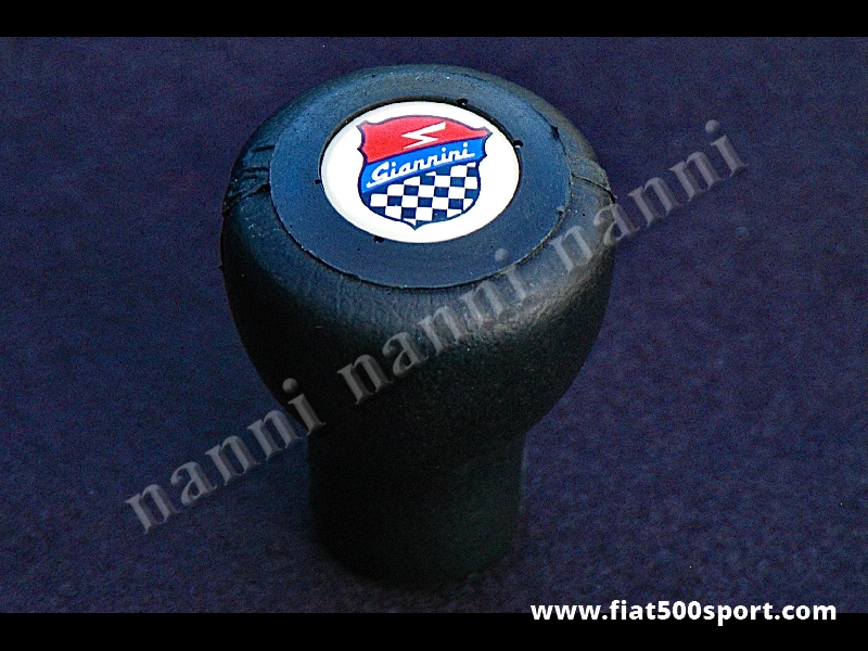 Art. 0032 - Fiat 500 Fiat 126 Giannini poliuretane gear knob. - Fiat 500 Fiat 126 Giannini poliuretane gear knob.