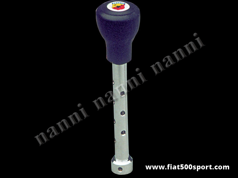 Art. 0041 - Fiat 500 Fiat 126 Abarth speed change lever with poliuretane ballgrip. - Fiat 500 Fiat 126 Abarth speed change lever with poliuretane ballgrip.