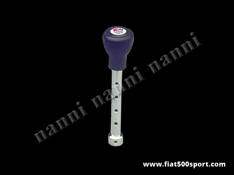Art. 0042 - Fiat 500 Fiat 126 Giannini speed change lever with poliuretane ballgrip. - Fiat 500 Fiat 126 Giannini speed change lever with poliuretane ballgrip.