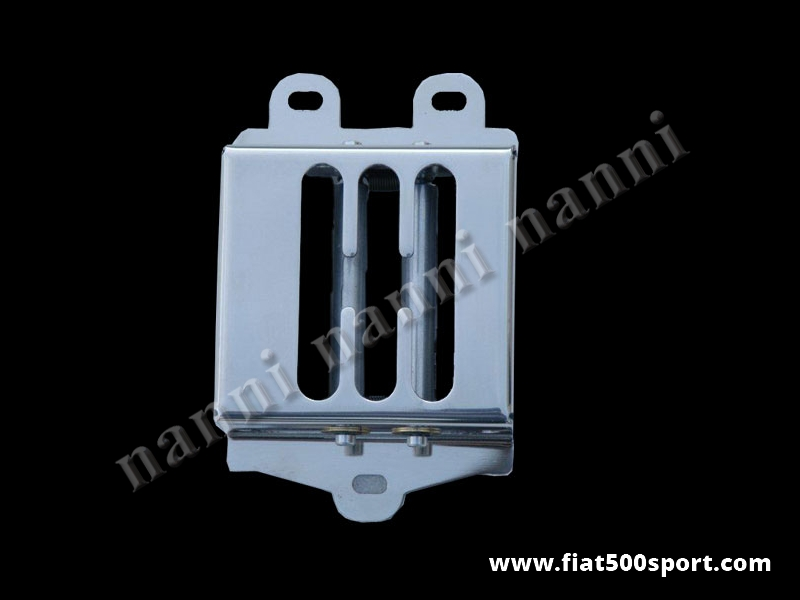 Art. 0071 - Fiat 500 Fiat 126 NANNI competition style 5 speed steel plate for ballgrip. - Fiat 500 Fiat 126 NANNI competition style 5 speed steel plate for ballgrip.