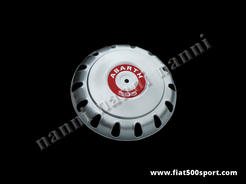 Art. 0096A - Borchia Fiat 500 Abarth per ruota originale. - Borchia Fiat 500 Abarth per ruota originale.