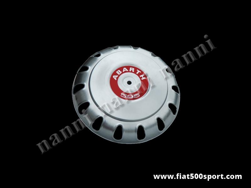 Art. 0096A - Fiat 500 Abarth wheel cap. - Fiat 500 Abarth wheel cap.