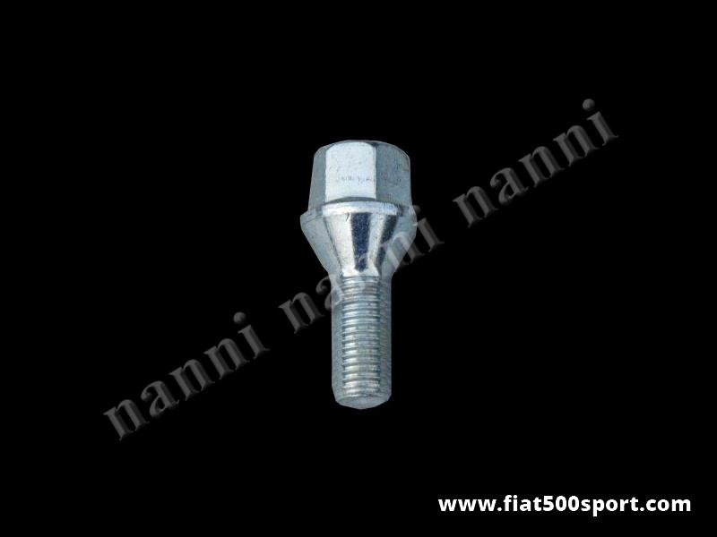 Art. 0107C - Fiat conical bolt 12×1.5×36 mm. - Fiat conical bolt 12×1.5×36 mm.