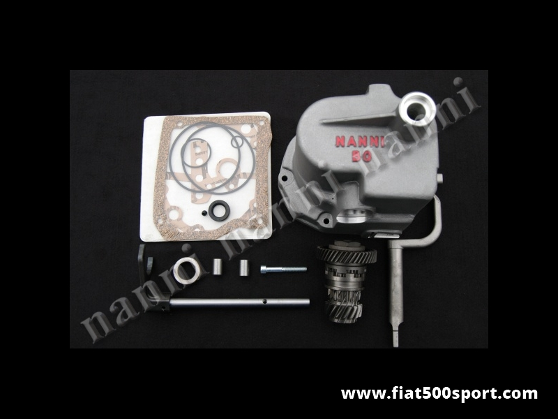 Art. 0110A - Fiat 500 gearbox kit 5 speed with gaskets. - Fiat 500 gearbox kit 5 speed with gaskets.