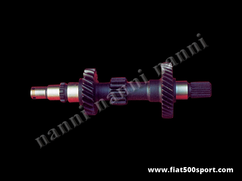 Art. 0117 - Fiat 126 NANNI main shaft gearbox for 3 and 4 very short speed. - Fiat 126 NANNI main shaft gearbox for 3 and 4 very short speed.