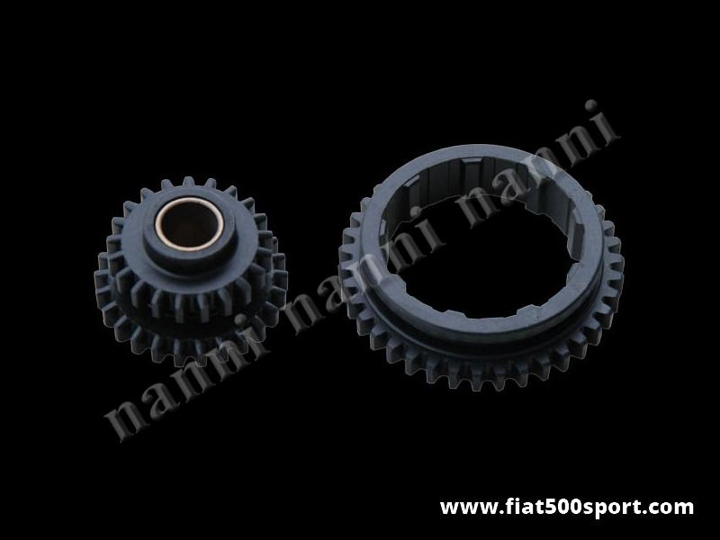 Art. 0120 - Ingranaggi Fiat 126 originali. (Prima e retromarcia). - Ingranaggi Fiat 126 originali ( 1ª e retromarcia ) di altissima qualità.