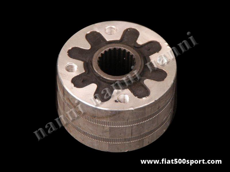 Art. 0121A - Giunto Fiat 500 F L R Fiat 126 elastico di alta qualità. - Giunto Fiat 500 F L R Fiat 126 elastico di alta qualità.