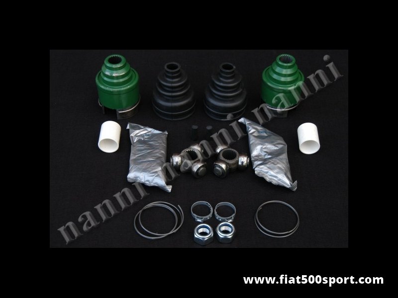 Art. 0121E - Fiat 500 Fiat 126 kit with tripod cross journal for driveshafts. - Fiat 500 Fiat 126  kit with tripod cross journal for driveshafts.