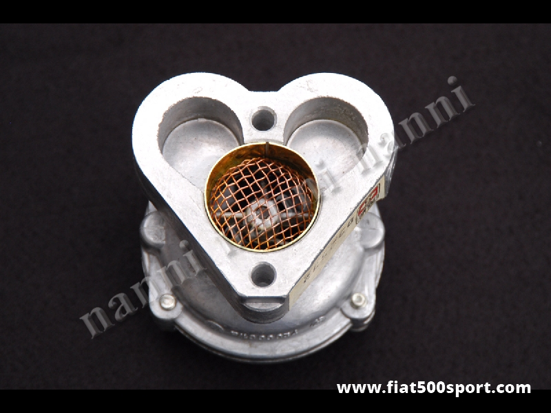 Art. 0130 - Fiat 500 Fiat 126 Weber special inlet manifold for carburettor Weber 28 IMB. - Fiat 500 Fiat 126  Weber special inlet manifold for carburettor Weber 28 IMB. For Fiat 500 you need to buy also our art. 0446.
