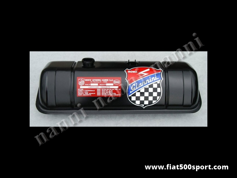 Art. 0141g - Serbatoio Fiat 500 Giannini benzina nuovo. - Serbatoio benzina Fiat 500 Giannini nuovo.
