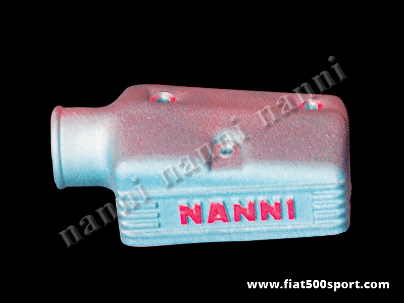 Art. 0150 - NANNI  light alloy air cap for twin-choke Weber carburettor 30 mm. - NANNI light alloy air cap for twin-choke Weber carburettor 30 mm. (Fiat 850 special, coupe', spider).