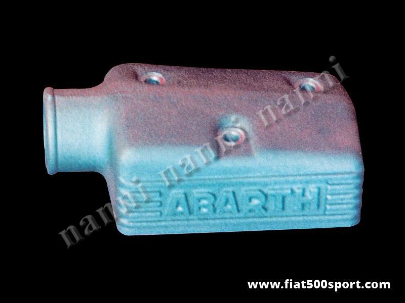 Art. 0151 - Scatola Fiat 500 Fiat 126 Abarth presa aria in alluminio per carburatore Weber 30 DIC - Scatola presa aria Fiat 500 Fiat 126 Abarth in alluminio per carburatore Weber 30 DIC.