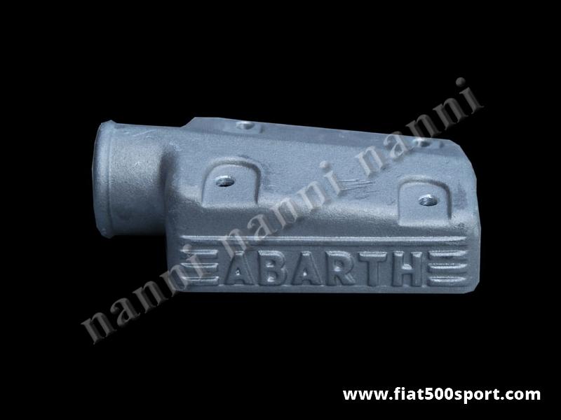 Art. 0151A - Scatola Fiat 500 Fiat 126  Abarth presa aria in alluminio per carburatore A112 Abarth - Scatola presa aria Fiat 500 Fiat 126 Abarth in alluminio per carburatore A112 Abarth (32 mm. doppio corpo verticale).