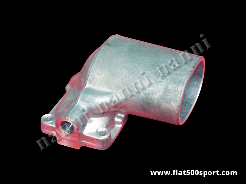 Art. 0154 - Fiat 500 Abarth carburettor Solex 32/34 PBIC light alloy air cap. - Fiat 500 Abarth light alloy air cap for carburettors Solex 32 PBCI and 34 PBCI.