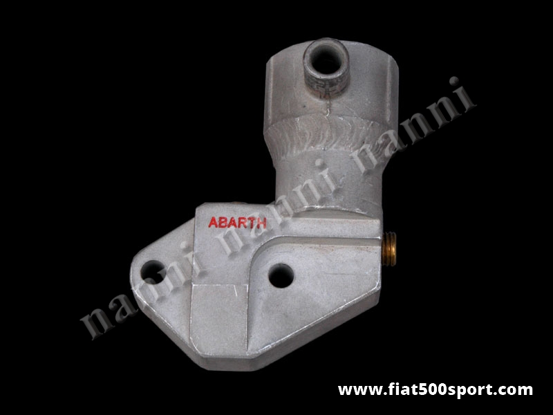 Art. 0156 - Fiat 500 Fiat 126 Abarth stopping up the hole mechanical fuel pump part (for stradal use). - Fiat 500 Fiat 126 Abarth stopping up the hole mechanical fuel pump part (for stradal use).