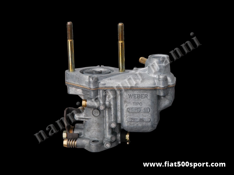 Art. 0158 - Fiat 500 F L  original Weber carburettorØ 26 mm. - Fiat 500 F L original Weber carburettor Ø 26 mm.