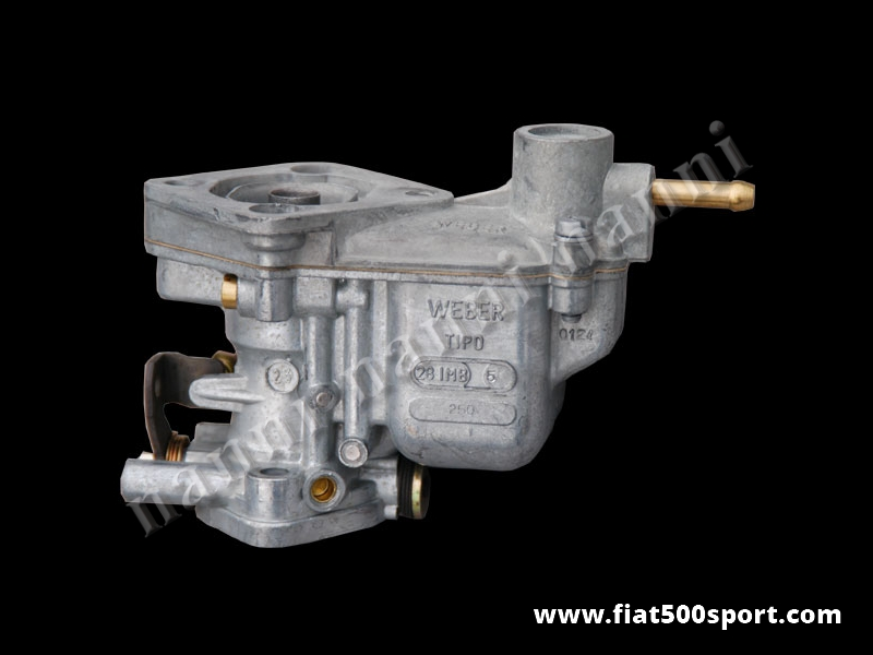 Art. 0159 - Fiat 500 R Fiat 126 carburettor new original Weber 28 IMB diam. 28 mm. - Fiat 500 R Fiat 126 carburettor new original Weber 28 IMB Ø 28 mm.