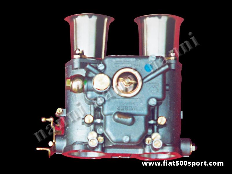 Art. 0161 - Twin-choke horizontal Weber 45 DCOE carburettor. - Twin-choke horizontal Weber 45 DCOE carburettor. (Alfa Romeo Giulia 2000, etc.)