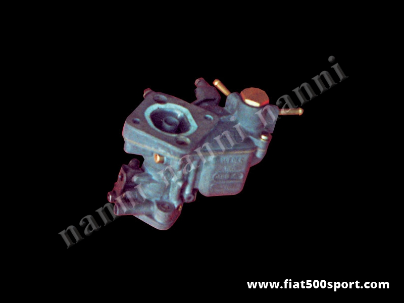 Art. 0163 - Fiat 500 Fiat 126 NANNI modified Ø 28 mm new  Weber carburettor. - Fiat 500 Fiat 126 NANNI modified Ø 28 mm new Weber carburettor.