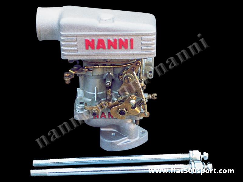 Art. 0172 - Fiat 500 carburettor Weber 30 DIC with manifold and light alloy air cap NANNI. - Fiat 500 carburettor Weber 30 DIC with manifold and light alloy air cap NANNI.