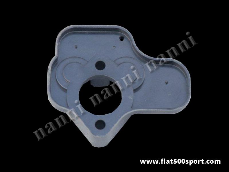 Art. 0178A - Distanziale Fiat 126 termico originale per carburatore Fiat 126. - Distanziale termico Fiat 126 (basetta del carburatore) per carburatore Fiat 126 diametro 28 mm.