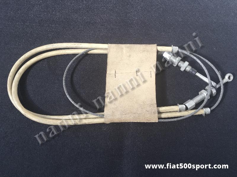 Art. 0194 - Fiat 500 Giardiniera and Bianchina Panoramica hand brake cable - Fiat 500 Giardiniera and Bianchina Panoramica hand brake cable.