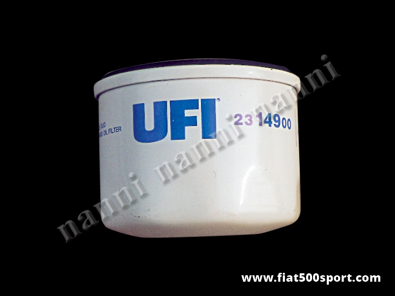 Art. 0216 - Filtro olio Fiat 500 Fiat 126 per modifica NANNI sul carter della distribuzione. - Filtro olio Fiat 500 Fiat 126 per applicazione NANNI sul carter della distribuzione.