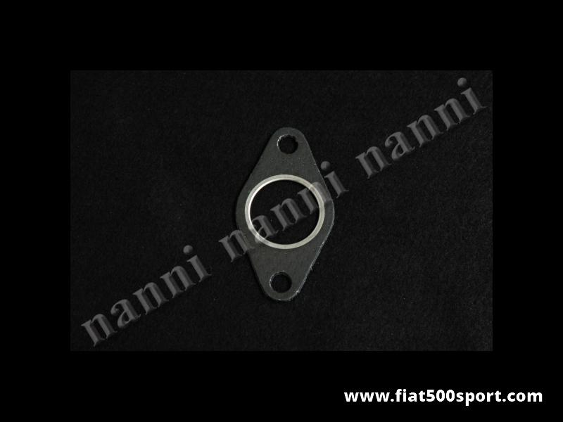 Art. 0220G - Fiat 500 Giardiniera header to muffler gasket. - Fiat 500 Giardiniera header to muffler gasket.