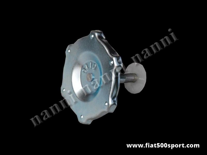 Art. 0260T - Fiat 500 F L R Fiat 126 original valve cover cap (for our item 0260) - Fiat 500 F L R Fiat 126 original valve cover cap (for our item 0260)