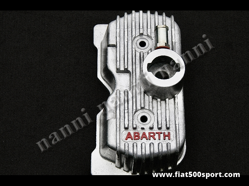 Art. 0262 - Valve cover Fiat 500 Fiat 126 Abarth light alloy. - Valve cover Fiat 500 Fiat 126 Abarth light alloy.