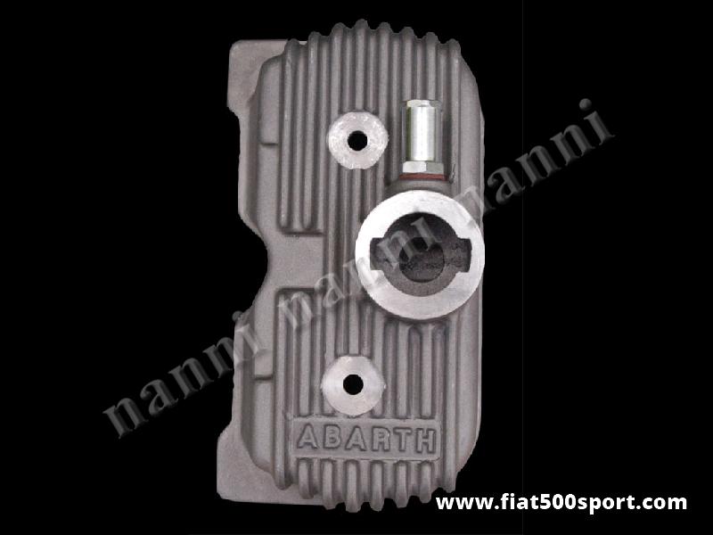Art. 0262 - Valve cover light alloy Abarth for Fiat 500 Fiat 126. - Fiat 500 Fiat 126 Abarth light alloy valve cover.