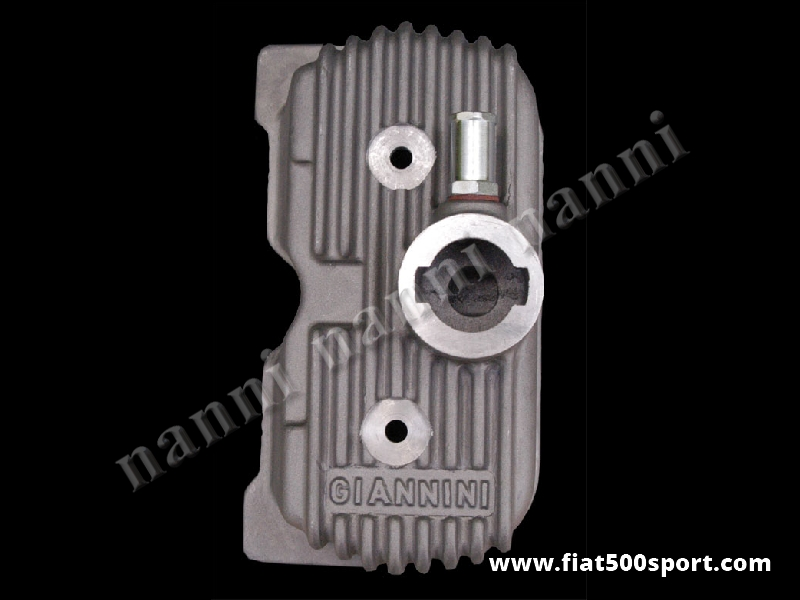 Art. 0263 - Valve cover Fiat 500 Fiat 126 Giannini light alloy. - Valve cover Fiat 500 Fiat 126 Giannini light alloy.