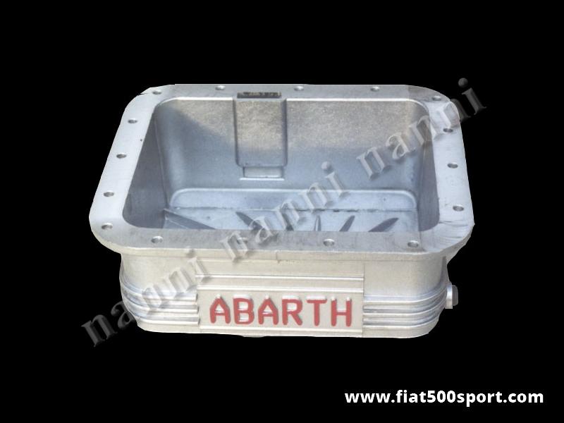 Art. 0273 - Sump Fiat 500 Fiat 126 Abarth light alloy 3,5 liters. - Fiat 500 Fiat 126 sump Abarth light alloy 3,5 l.