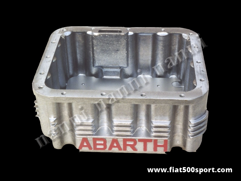 Art. 0275 - Sump Abarth light alloy 4 l. for Fiat 500 Fiat 126. - Fiat 500 Fiat 126 Abarth light alloy sump 4 l.