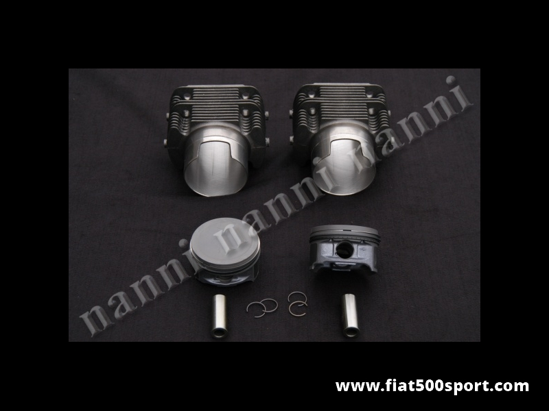Art. 0328 - Piston-liner kit  Fiat 126 740 cc. Ø 82 mm for up-grading the engine (for this item need to buy art. 0293a and art. 0429). NANNI cylinders. - Piston-liner kit 740 cc, Ø 82 mm for up-grading Fiat 126 engine (for this item need to buy art. 0293a and art. 0429). NANNI cylinders don't require the head gasket).