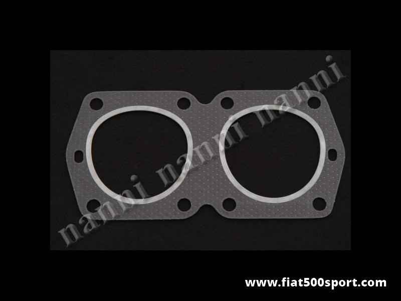 Art. 0420F - Guarnizione testa Fiat 500 F L cc.499 e cc. 540. ( per pistoni diam. 67,4 mm. e diam. 70 mm.) - Guarnizione di testa Fiat 500 F L per motore cc.499 con pistoni diam. mm.67,4, oppure cc. 540 con pistoni diam. mm. 70, spessore 12/10.