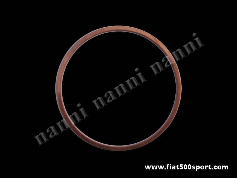 Art. 0429 - Anelli  Fiat 500 Fiat 126 sottocanna in rame NANNI per motore 750 cc. con pistone Ø 82 mm. - Anelli Fiat 500 Fiat 126 sottocanna in rame NANNI per motore 750 cc. con pistone Ø 82 mm (disponibili con spessore 2/10 oppure 7/10). Il diametro interno degli anelli è di mm. 88. Serie di 2 pezzi.