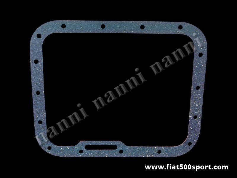 Art. 0436 - Guarnizione coppa olio Fiat 500 Fiat 126 in materiale speciale ad alta resistenza. - Guarnizione coppa olio Fiat 500 Fiat 126 in materiale speciale ad alta resistenza.