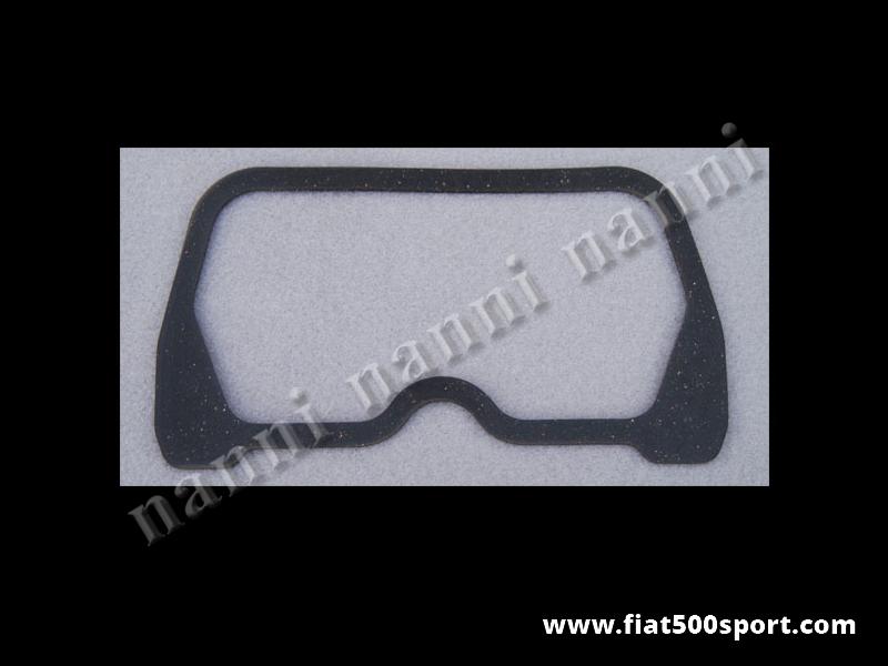 Art. 0437 - Guarniz. coperchio punterie Fiat  500 Fiat 126 in materiale speciale ad alta resistenza. - Guarniz. coperchio punterie Fiat 500 Fiat 126 in materiale speciale ad altissima resistenza. (Non è in sughero gommato).