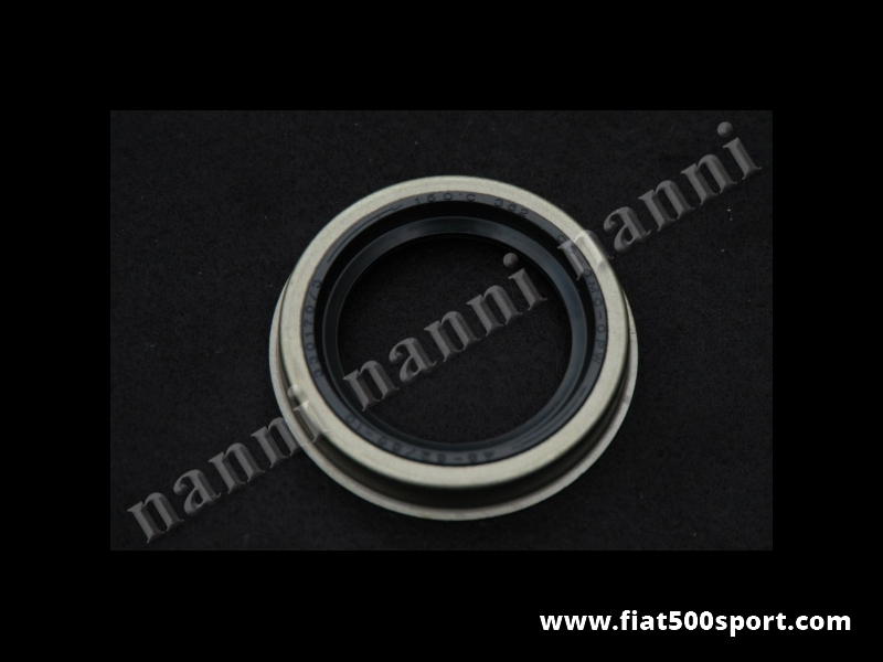 Art. 0442E - Oil seal crankshaft Fiat 500 Fiat 126 (timing chain side). - Crankshaft oil seal Fiat 500 Fiat 126 (timing chain side) Size: 45×62/66×10.