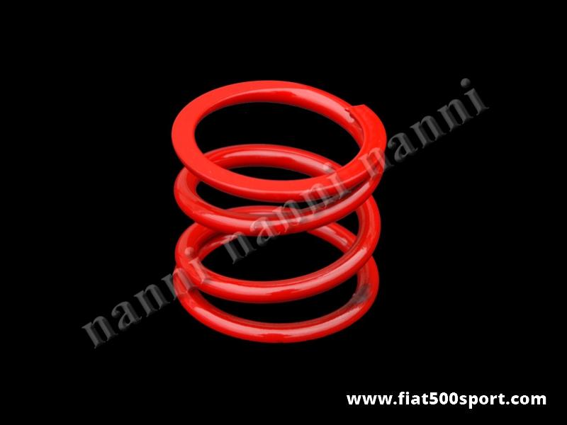 Art. 0452 - Molla Fiat 500 R Fiat 126 sospensione  motore rinforzata NANNI in acciaio speciale Oteva 70. - Molla Fiat 500 R Fiat 126 sospensione motore rinforzata NANNI, in acciaio speciale Oteva 70.
